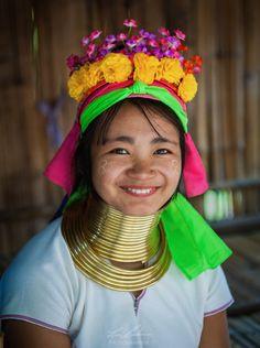 Long Neck Karen Paduang Hill Tribe near Chiang Mai Thailand