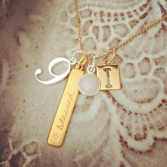 Create your own story! We <3 this Stella & Dot charm combo! #aCharmedLife #stelladot #charms #sdcharms