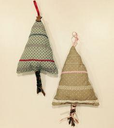 En el taller de costura creativa l'Àngels ha fet aquests arbres tan xulos!