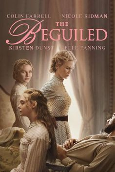 Directed by Sofia Coppola. With Nicole Kidman, Kirsten Dunst, Elle Fanning, Colin Farrell. The unexpected arrival of a wounded Union soldier at a girls school in Virginia during the American Civil War leads to jealousy and betrayal. Streaming Movies, Hd Movies, Movies Online, Hd Streaming, 2016 Movies, Night Film, Beau Film, Colin Farrell, Nicole Kidman