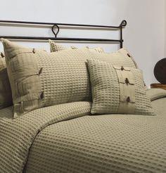 Park B. Smith (Vintage House) Eco Escondido Celadon Comforter Set