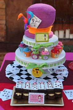 Alice In Wonderland Mad Tea Party Baby Shower Party Ideas | Photo 2 of 27 | Catch My Party