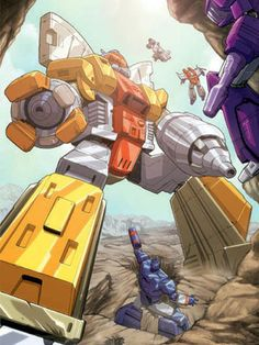 """Behind the goofy """"toy commercial"""" quality of G1 Transformers at times, there's a great, tragic tale of the legendary Autobot known as Omega Supreme. Check out """"The Secret of Omega Supreme"""" on Netflix and see what I mean."""