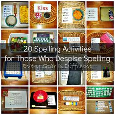 Every Star Is Different: 20 Spelling Activities for Those Who Despise Spelling