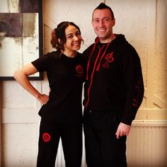 Si Je Rena with head instructor Keith