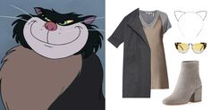 5 Disney-Inspired Outfits for International Cat Day   Lucifer from Cinderella   cat headband + ankle boots   [ http://di.sn/6002BF8yy ]