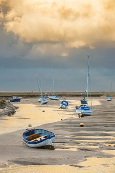 Autumn Storm over the Bay - absolutely beautiful photography by Brett Gardner Photography. The colours ar Autumn Storm over the Bay - absolutely beautiful photography by Brett Gardner Photography. The colours are just what I was looking for. Norfolk Beach, Norfolk Coast, Norfolk England, Norfolk Broads, Boat Art, Old Boats, Boat Painting, Fishing Boats, Beautiful Landscapes