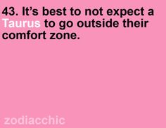 I must have a large comfort zone lol
