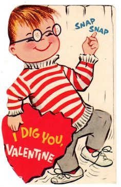 funny vintage valentines - Google Search