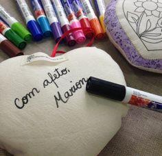 CRiações em família & cia. - Coração criar e pintar [+ canetas, + embalagem]