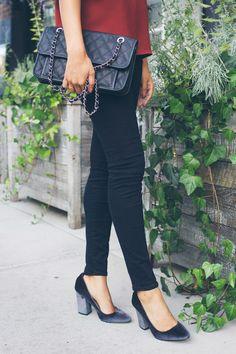 target velvet heels