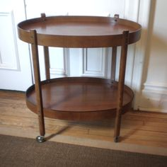 For some reason I have decided I would like an old school bar cart.