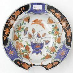 19 / 20世紀 日本 の 理容室 の お皿 19th / 20th Century Japanese Barber's Bowl