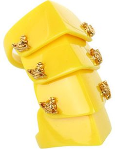 Resin Armour Ring - Vivienne Westwood