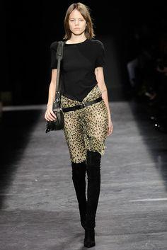 Isabel Marant Fall 2009 Ready-to-Wear Fashion Show - Freja Beha Erichsen