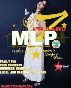 """(Pass it on) Miami Love Parade 7 ( MLP7 ) April 3-92017 """"Freedom's Bridge of Peace"""" Family fun concerts Business seminars Local/ national speakers; Our Signature """"We Care"""" Community Service Week For event items and sponsorship packages For Updates http://ift.tt/2lxj8rT MAIN EVENT: Motorcade Parade CFY Feeding South Florida Saturday April 8 2017 Betty T. Ferguson Center Miami Gardens FL 33056 Registration http://ift.tt/2lxj8rT Info: 877-574-9494 Ext. 0 #YAHWEH #love #yachtclub #MLP7 #King…"""