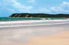 Praia do Morro, em Barra de Santo Antônio, Alagoas