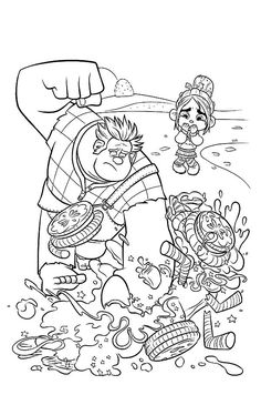Duck tales coloring pages for kids, printable free