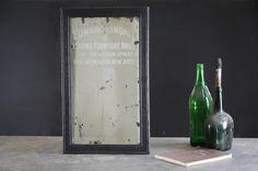 Vintage Ed Hingher Furniture Mirror : Factory 20
