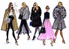 #Hayden Williams Fashion Illustrations #Style On The Go by Hayden Williams