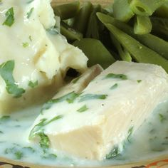 Cod in a Creamy Parsley Sauce. At only 185 calories, being healthy has never been so easy!