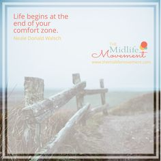 Life is too short to cower inside your comfort zone!