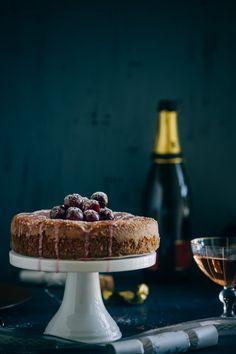 CHAMBORD CHERRY CAKE