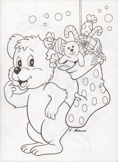 1 Quote Coloring Pages, Bear Coloring Pages, Coloring Pages For Kids, Coloring Books, Christmas Bible, Kids Christmas, Christmas Coloring Sheets, Color Games, Christmas Graphics