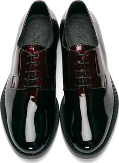 Jimmy Choo Red Gradient Alaric Derbys #Fashion