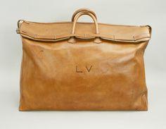 "Vintage Steamer Bag, Louis Vuitton H 46 cm x W 70 cm x D 25 cm H 18¼"" x W 27¾"" x D 10"""