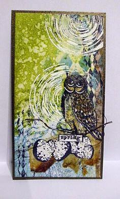 AJ sheet: Owls, Ripple, Bird Boy, Scratches & Diamonds