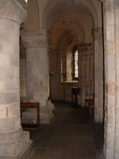 Interior of The White Tower at The Tower of London. Really brings to life the historical novels that I love.