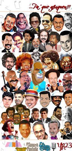 Heavy Metal, Latino Americano, Musica Salsa, Salsa Music, Puerto Rico History, Latin Music, Puerto Ricans, Music Is Life, Caricature