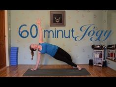 60 MINUT POWER JÓGY - YouTube Yoga Videos, Youtube, Planking, Youtubers, Youtube Movies