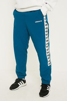 adidas TNT Teal Wind Track Pants   Urban Outfitters