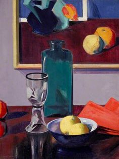The Green Bottle mid 1920's by F.C.B.Cadell (1883-1937)