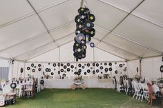 Music Themed Backyard Wedding: Bernadette & Peter
