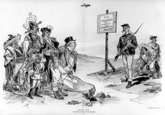 The Monroe Doctrine was a policy of the United States introduced on December 2, 1823. It stated that further efforts by European nations to colonize land or interfere with states in North or South America would be viewed as acts of aggression, requiring U.S. intervention.[1] At the same time, the doctrine noted that the United States would neither interfere with existing European colonies nor meddle in the internal concerns of European countries.
