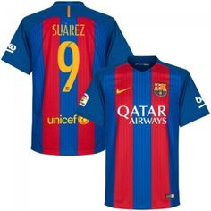 d0810199e 2016 17 Luis Suárez 9 Soccer Jersey Football Shirt Trikot Maglia Playera De  Futbol Camiseta De Futbol