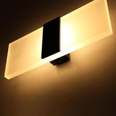 LED Wall Lights Bedroom Restroom Scones Warm White Lamp Home Lighting Decoration Led Wall Lamp, Led Ceiling Lights, Wall Sconce Lighting, Home Lighting, Wall Sconces, Luminaire Led, Lampe Led, Deco Led, Led Christmas Lights