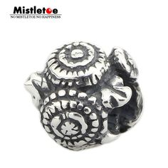 Mistletoe Jewelry Genuine 925 Sterling Silver Dandelion Charm Bead Fits European Brand 3.0mm Bracelet #Affiliate