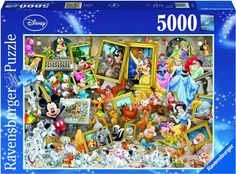 Ravensburger Mickey As Artist Jigsaw Puzzle Piece) Puzzle 5000, Puzzle Shop, Puzzle Pieces, Disney Stars, Mickey Disney, Disney Pixar, Disney Fun, Walt Disney, Games