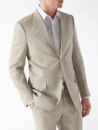 My Groom will wear a linen or light suit...HOT!