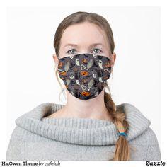 Ha,Owen Theme Cloth Face Mask Pumpkin Moon, Skull Pumpkin, How To Protect Yourself, Health And Safety, Sensitive Skin, Ear, Beauty, Ears, Cosmetology