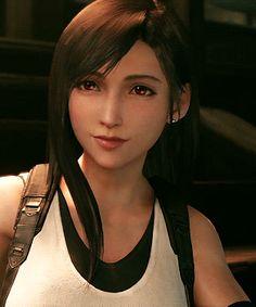 Final Fantasy 7 Tifa, Final Fantasy Girls, Final Fantasy Characters, Final Fantasy Vii Remake, Fantasy Series, Cloud And Tifa, Cloud Strife, Tifa Cosplay, Eden Girl