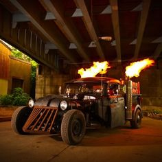 Steampunk Rat Rod | an example of a Rat Rod. That is ART.