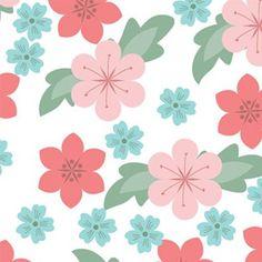 Free Vector Art & Graphics :: Seamless Flowers Pattern