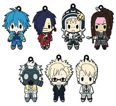 AmiAmi [Character & Hobby Shop] | D4 DRAMAtical Murder - Rubber Keychain Collection BOX