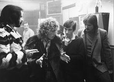 Roger Daltrey, John Entwistle, Franc Roddam and Phil Daniels
