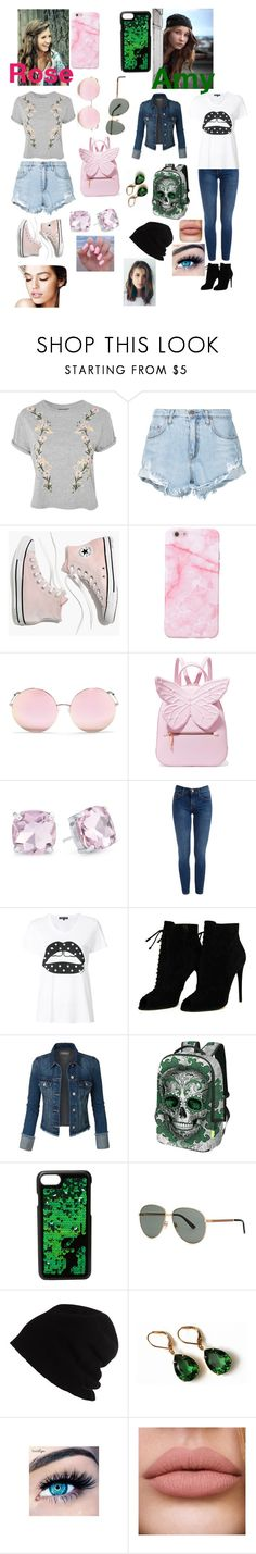 """""""They Are Growing Up"""" by wingsofafairy ❤ liked on Polyvore featuring Topshop, Nobody Denim, Madewell, Matthew Williamson, Sophia Webster, Evie & Emma, Markus Lupfer, Tom Ford, Kendall + Kylie and Gucci"""